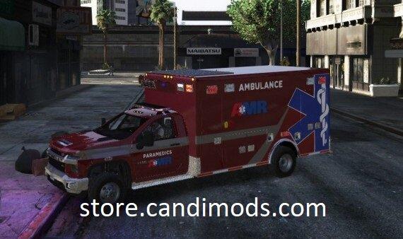 2021 Chevrolet 3500HD Ambulance