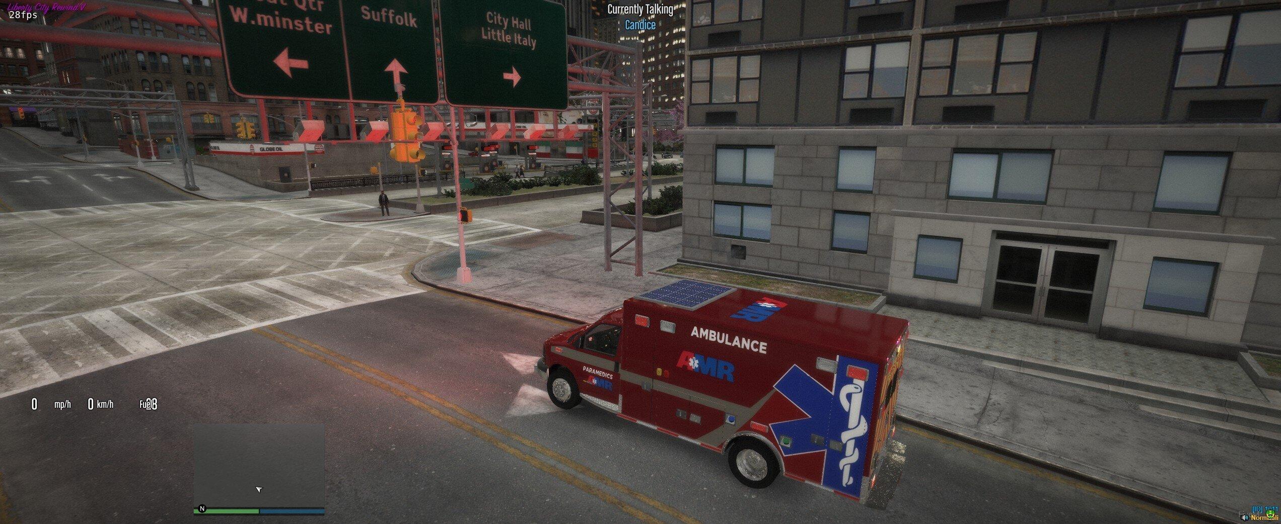 Chevy Express 3500 Ambulance